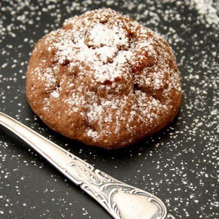 Weihnachten Schoko-Bratapfel Cookies Kekse