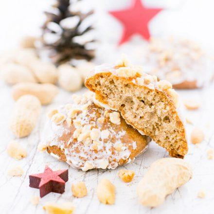 Weihnachten Erdnuss Lebkuchen