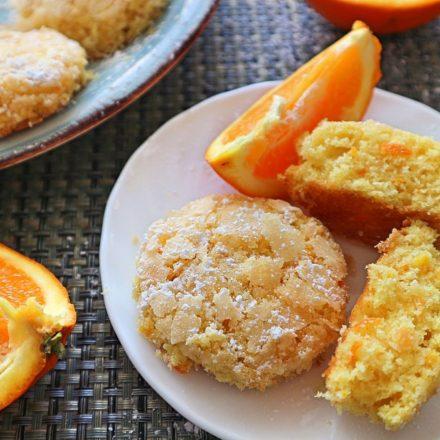 Weihnachten Orangenkekse
